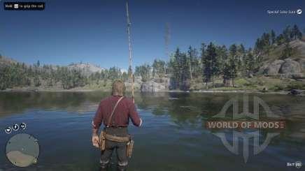 Pêche à L'achigan à petite bouche dans RDR 2