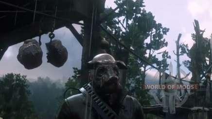 Wo finden Sie das Schwein Maske in RDR 2