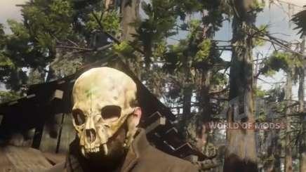 Où trouver le masque de crâne de chat dans RDR 2