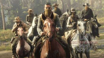 Modes multijoueurs dans Red Dead Online