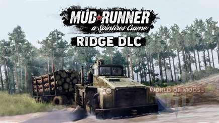 MudRunner a publié le module complémentaire gratuit Ridge