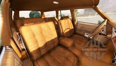 Oldsmobile Delta 88 fullsize für BeamNG Drive