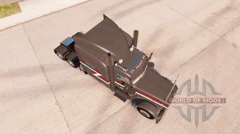 Z1 de la peau pour le camion Peterbilt 389 pour American Truck Simulator