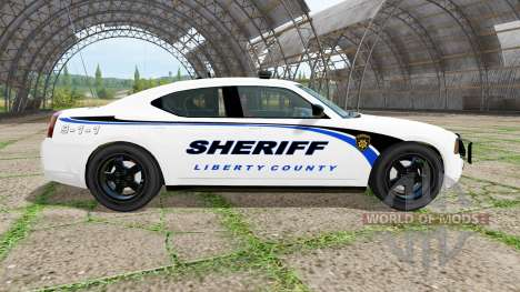 Dodge Charger Sheriff pour Farming Simulator 2017