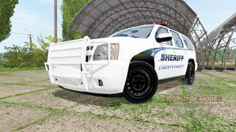 Chevrolet Tahoe Sheriff pour Farming Simulator 2017
