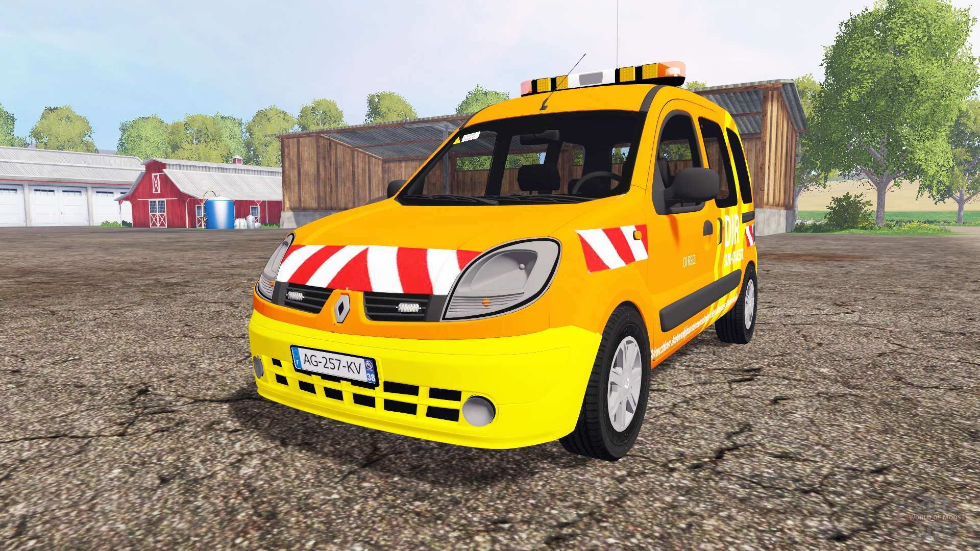 renault kangoo dir pour farming simulator 2015. Black Bedroom Furniture Sets. Home Design Ideas