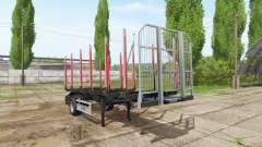 Timber trailer Fliegl pour Farming Simulator 2017