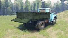 Farbe Grün Körper für ZIL 130