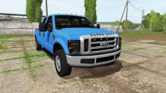 Ford F-350 Super Duty Crew Cab pour Farming Simulator 2017