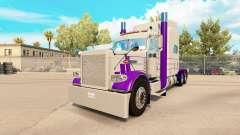 Haut Lila-Grau für den truck-Peterbilt 389