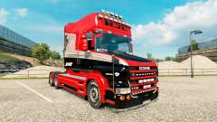 Stiholt de la peau pour le camion de Scania séri