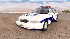 Ibishu Pessima Chinese Police pour BeamNG Drive