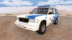 Gavril Roamer spanish police v3.5 pour BeamNG Drive
