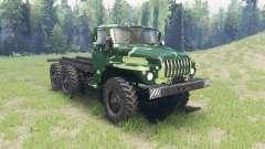 La couleur est l'Été camouflage pour Ural 4320