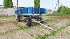 BSS tractor trailer pour Farming Simulator 2017
