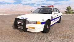 Gavril Grand Marshall mayfield police v2.0 für BeamNG Drive
