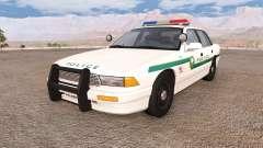 Gavril Grand Marshall cedarwood police