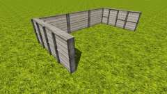 Placeable bale storage v1.1 pour Farming Simulator 2015