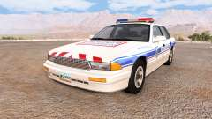 Gavril Grand Marshall police municipale für BeamNG Drive