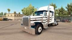 Drei Streifen skin für den truck-Peterbilt 389
