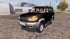 UAZ Patriot 3163 dns_event_unknown_service_port