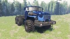 Farbe Winter camo Ural 4320-10
