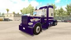 Haut Lila Laufen für den truck-Peterbilt 389
