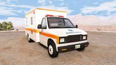 Gavril H-Series ashland city ambulance v2.0 pour BeamNG Drive
