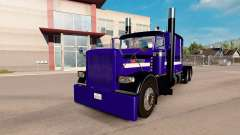 Purple Rain de la peau pour le camion Peterbilt