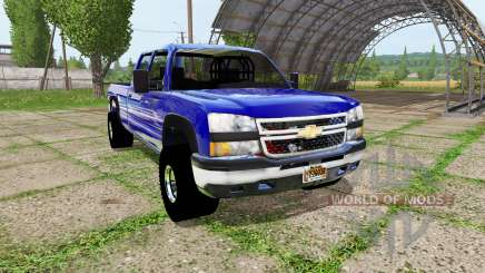 Chevrolet Silverado 3500 HD pour Farming Simulator 2017