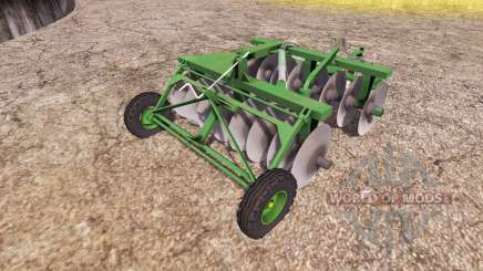 Disc harrow v2.0 pour Farming Simulator 2013