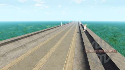 Endless highway v2.0 pour BeamNG Drive
