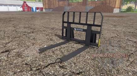 Whites pallet fork für Farming Simulator 2015
