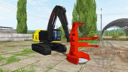 Feller buncher pour Farming Simulator 2017