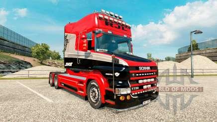 Stiholt de la peau pour le camion de Scania série T pour Euro Truck Simulator 2