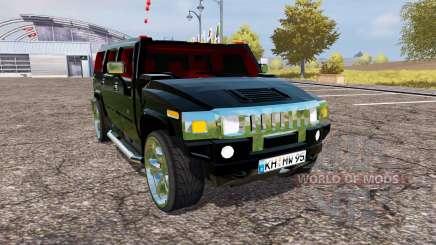 Hummer H2 v1.2 für Farming Simulator 2013