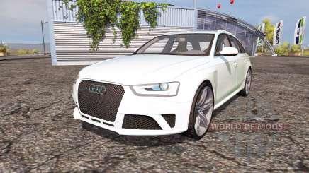 Audi RS4 Avant (B8) v2.0 pour Farming Simulator 2013