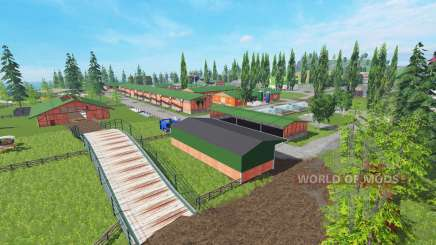 Vosges v4.0 pour Farming Simulator 2015