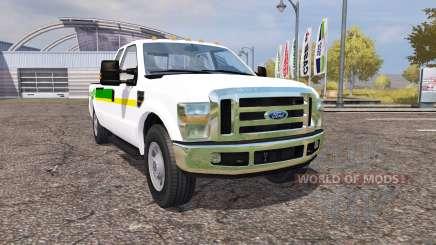 Ford F-350 John Deere pour Farming Simulator 2013