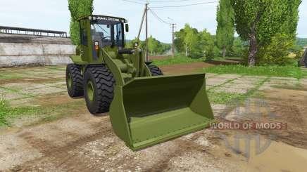 John Deere 524K army pour Farming Simulator 2017