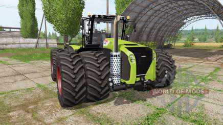 CLAAS Xerion 5000 v2.0 pour Farming Simulator 2017