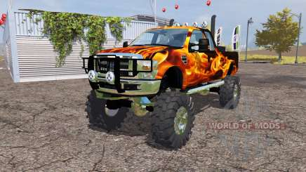 Ford F-350 monster pour Farming Simulator 2013