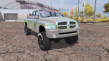 Dodge Ram 2500 2008 v2.0 für Farming Simulator 2013