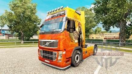 La peau de Pirates des Caraïbes chez Volvo trucks pour Euro Truck Simulator 2