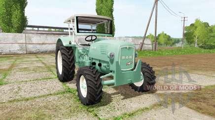 MAN 4p1 1960 v2.0 pour Farming Simulator 2017