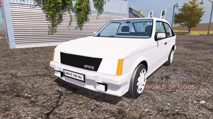 Opel Kadett GT-E (D) pour Farming Simulator 2013