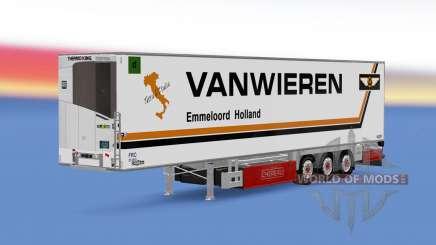 Trailer Chereau Van Wieren für Euro Truck Simulator 2