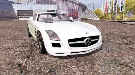 Mercedes-Benz SLS 63 AMG (C197) für Farming Simulator 2013