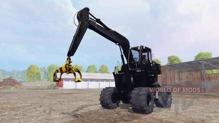 Liebherr A900C logging v4.0 für Farming Simulator 2015