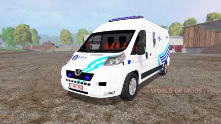 Peugeot Boxer Police v1.1 pour Farming Simulator 2015